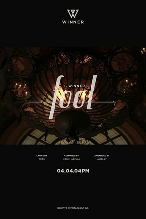WINNER release teaser image for second title track 'Fool'