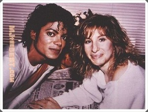 Barbra And Michael Jackson
