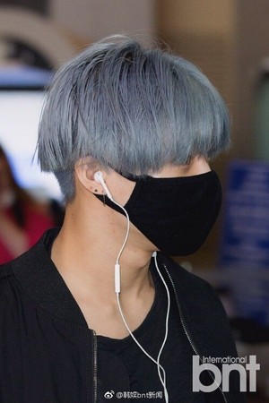 170515 Blue Hair SHINee Taemin 2017