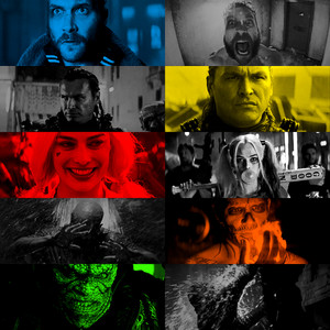Boomerang, Slipknot, Harley, Diablo and Killer Croc