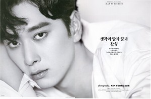 Chansung for Esquire Magazine June 2017 Issue
