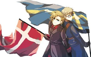 Denmark and Sweden