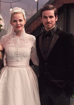 Emma and Killian's wedding