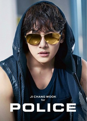 Ji Chang Wook for Police Eyewear