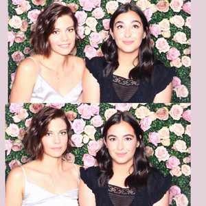 Lauren Cohan and Alanna Masterson