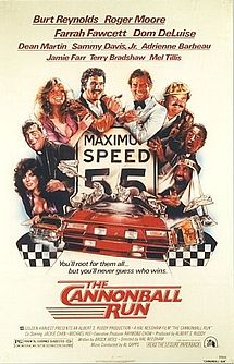 Movie Poster 1981 Film, Cannonball Run
