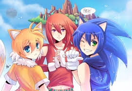 Sonic, Knuckles, Tails (Humans)