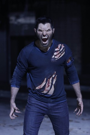 Tyler Hoechlin as Derek Hale in Teen serigala, wolf - Frayed (3x05)