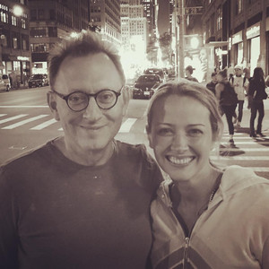 Amy Acker and Michael Emerson