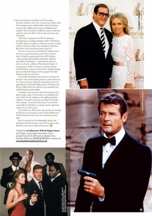 기사 Pertaining To Sir Roger Moore