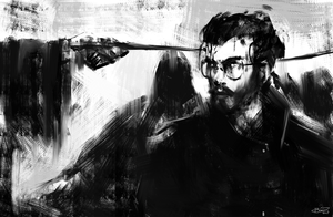 Auror Harry: Trapped (by blvnk-art)