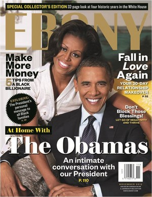 Barack And Michelle On The Cover Of EBONY Magazine