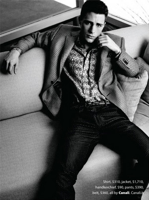 Colton Haynes - Essential Homme Photoshoot - 2012