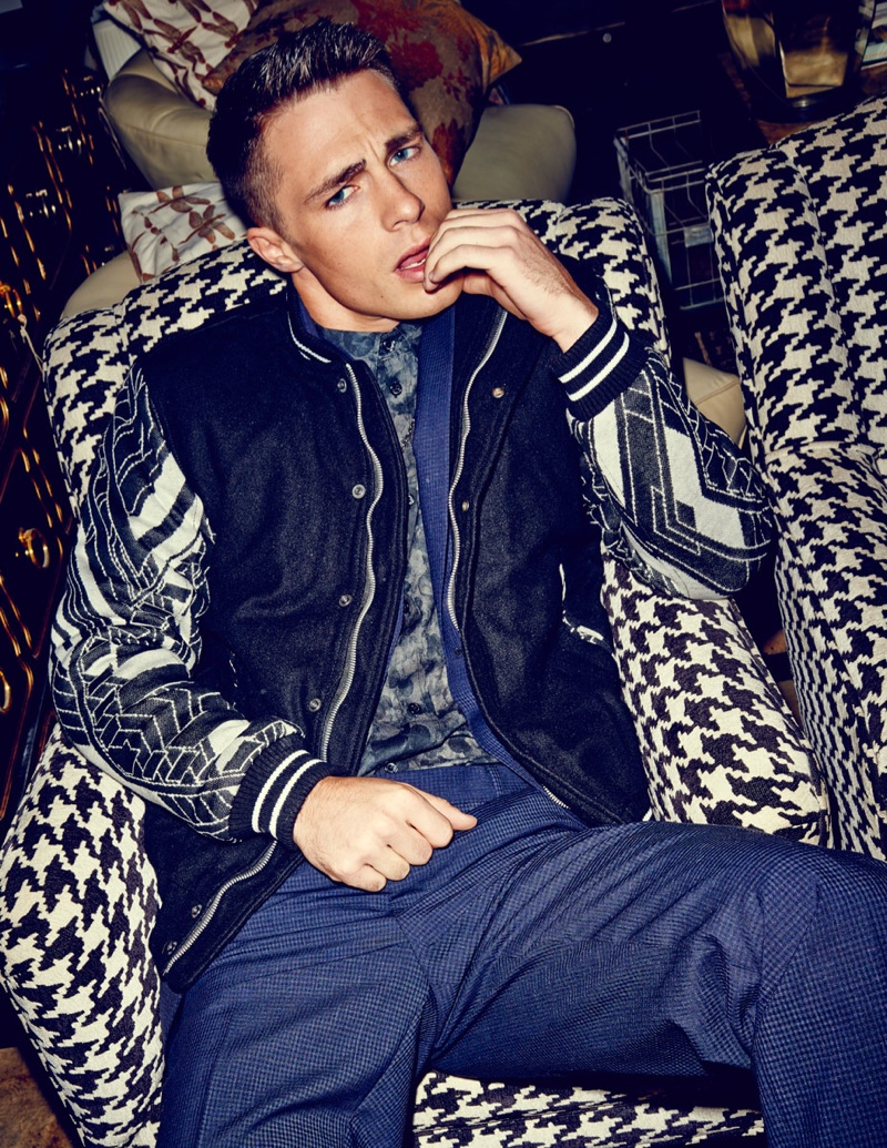 Colton Haynes - Flaunt Photoshoot - 2013
