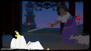 Esmeralda first Met Jack  (Useing The Sword)