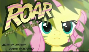 FlutterShy Roar Cover