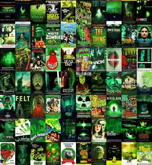 Horror Posters - Green