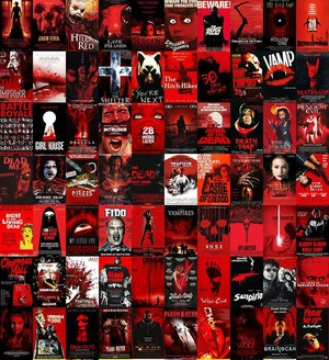 Horror Posters - Red
