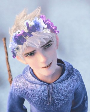 Jack Frost 花 Crown
