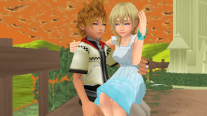 Meeting Again Original Themselves Roxas x Namine MMD