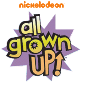 Nickelodeon All Grown Up Logo 2017