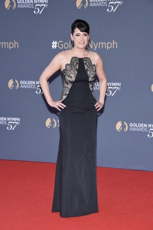 Paget at Golden Nymph Award, Monte Carlo
