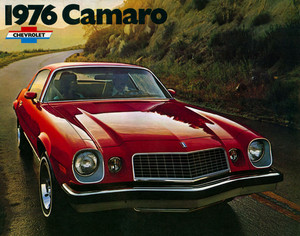 Promo Ad For 1976 Chevy Camaro
