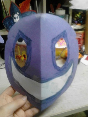 Purple Guy Mask