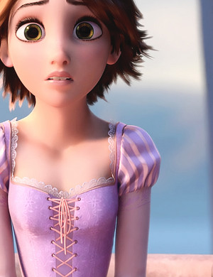 Rapunzel's Short Hair