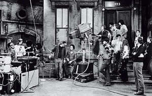 Behind The Scenes Of Sesame jalan, street 1973