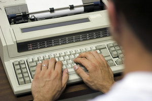 The Electronic Typewriter
