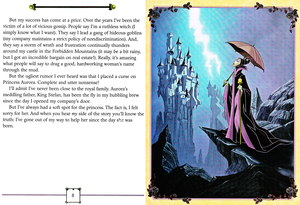 Walt ディズニー Book Scans - Sleeping Beauty: My Side of the Story (Maleficent)