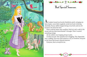 Walt 迪士尼 Book Scans - Sleeping Beauty: My Side of the Story (Princess Aurora)