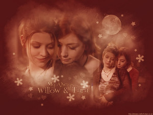 Willow/Tara kertas dinding
