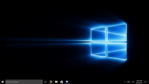 Windows 10 Modified Desktop