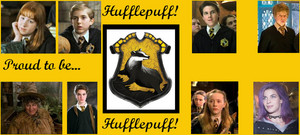 proud to be hufflepuff によって bronniii d4f3a23