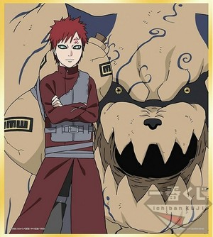 ▪ Gaara and Shukaku ▪