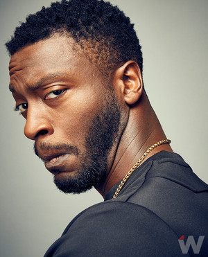 Aldis Hodge - The inpakken, wrap Photoshoot - 2016