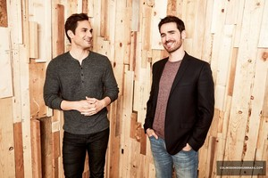 Andrew J. West and Colin O'Donoghue | 2017 Summer TCA Portrait