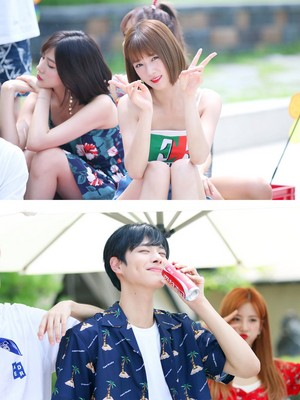 Apink @ Plan A Third Episode 'OASIS' MV Shooting Behind