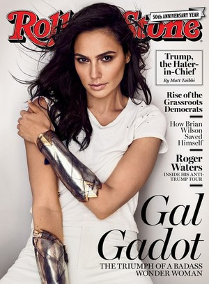 Gal Gadot - Rolling Stone Cover - 2017