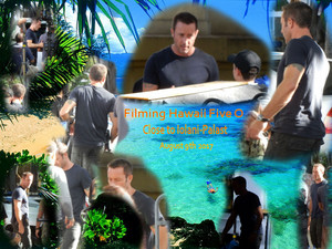Hawaii Five 0 - Season 8 - Filming at ʻIolani-Palast - Steve McGarrett / Alex O'Loughlin