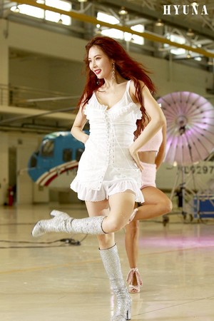 HyunA 'BABE' MV Shooting Site