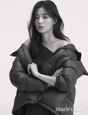JEON JI HYUN FOR STONEHENGE 10TH ANNIVERSARY IN SEPTEMBER MARIE CLAIRE