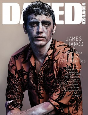 James Franco - Dazed and Confused Cover - 2013