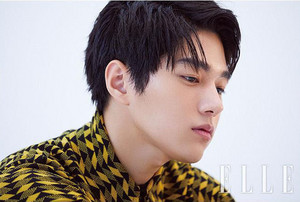 "KIM MYUNG SOO (""L"") FOR AUGUST ELLE"