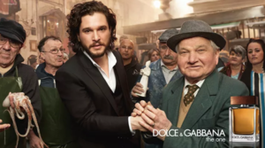 Kit Harington at Dolce & Gabbana advertising
