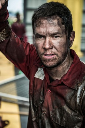 Mark Wahlberg as Mike Williams in Deepwater Horizon (2016)