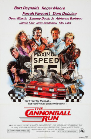 Movie Poster For 1981 Film, Cannonball Run