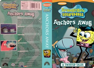 Nickelodeon's Spongebob Squarepants Anchors Away VHS